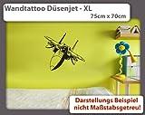 Wandtattoo Düsenjet XL - 75cm x 70cm - Duvar Tattoo - 23 mögliche Farben