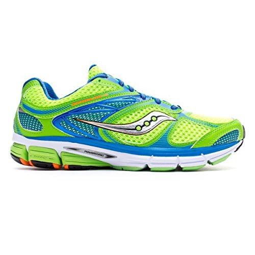 Saucony , Chaussures de course pour homme - Slime-Blue-Orange