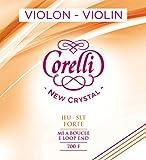 Cordes Corelli Violon Crystal Jeu avec boucle; Forte