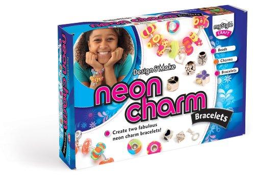 My Style Neon Charm-Armbänder -
