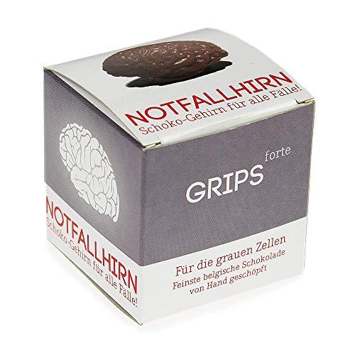 Monsterzeug Schokoladenhirn für Notfälle, Notfallhirn für alle Fälle, Schokoladengehirn, Gehirn aus Vollmilch-Schokolade, Schokoladengeschenk