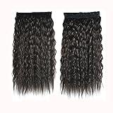 Watopi 5 clips de couleur dégradé ondulé Curly Long Clip Extensions de cheveux