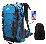 Best Backpack For Hikings - Netchain Hiking Backpack, 40L Lightweight Backpack Rucksack Large Review