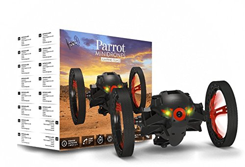 Parrot Jumping Sumo Minidrone (WiFi, Wide Angled Kamera) schwarz - 7