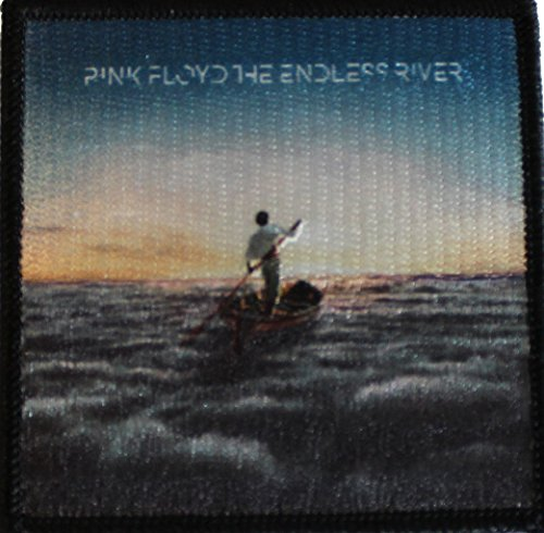 "Pink Floyd The Endless River PATCH toppa - Officially Licensed Original Artwork, 3"" x 3"", Iron-On / Sew-On Embroidered Patch"