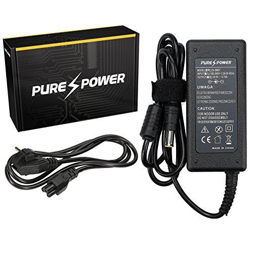 Purepower PURE⚡POWER® Laptop Netzteil für Sony VPCW21S1E/W mit freie EU Stromkabel (19.5V, 2.15A, 42, 6.0-4.4)