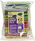 Good Boy Munchy Dog Treat Small Assorted Rolls, 125mm x 9/10mm, Pack of 100