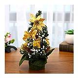 WUFANGFF 1 Pc Mini Kleine Künstliche Weihnachtsbaum Dekoration Urlaub Pine Xmas Home Decor New Year Festival Party Ornament 20Cm, EIN
