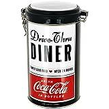 Coca Cola–Kaffeedose, Pub, Vintage, USA, Coca Cola, Diner, Retro, Schwarz