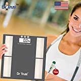 Dr. Trust (USA) Intelliscan High Accuracy Smart Body Composition Monitor Digital BODY FAT ANALYZER and Weighing Scale (Dr Trust Digital Thermometer free)