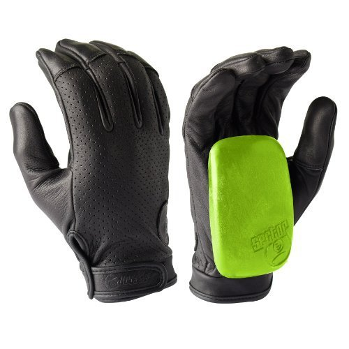 sector-9-driver-ii-black-2014-longboard-slide-gloves-with-slide-pucks-size-l-xl-by-sector-9