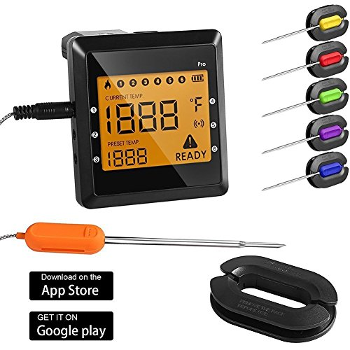 Habor Thermometer Küche Digitales Grill Thermometer Bratenthermometer Fleischth