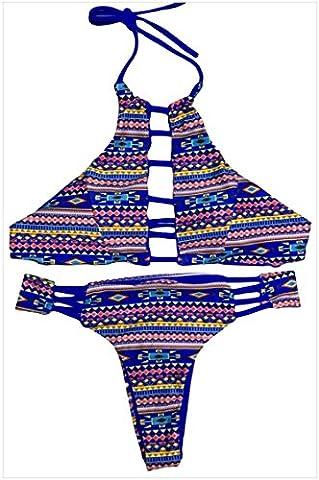 MEINICE - Bikini - Femme - Bleu - L