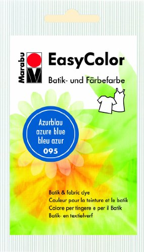 Marabu 095 Easy Color - Tinte para ropa (25 g), color azul
