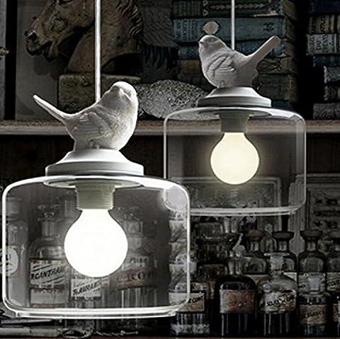 LongGanordische persönlichkeit originalität, vogel, kronleuchter, wohnzimmer, esszimmer, studierzimmer, bar, terrasse, korridor, gläserne kronleuchter,3. kopf lange platte