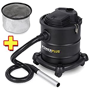 Aspirateur de cendres 1200 w/20 litres pOWX308 pOWX305B filtre