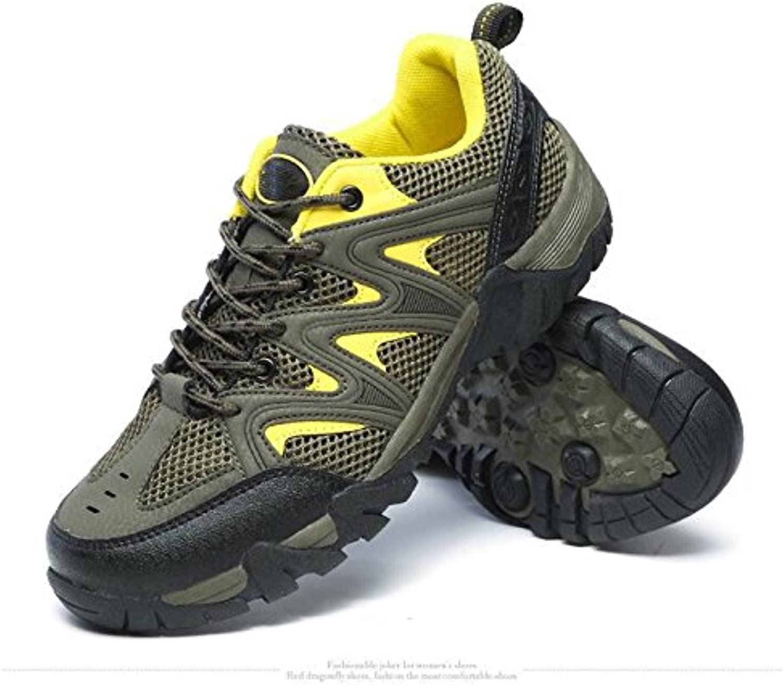 Z&HX sportsSenderismo Zapatos Transpirable Resistente al Desgaste Antideslizante Zapatos al Aire Libre Viaje de...