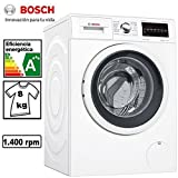 Bosch Serie 6 WAT28469ES Independiente Carga frontal 8kg 1400RPM