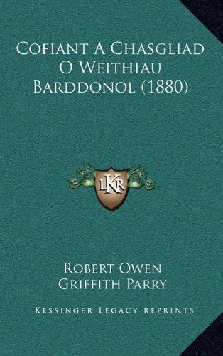 Cofiant a Chasgliad O Weithiau Barddonol (1880)