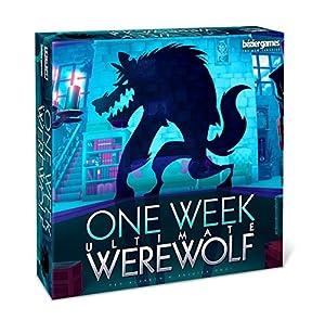 Bezier Games BEZ00030 One Week Ultimate Werewolf - Juego de Mesa (Contenido en alemán)