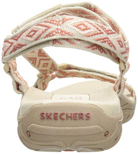 Skechers Women's Reggae Misty Morning Sandal Natural