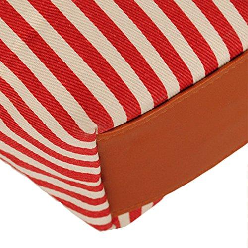 GSPStyle, Borsa a spalla donna One Size Rosso (rosso)