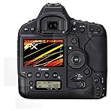 atFoliX Folie für Canon EOS 1D X Mark II Displayschutzfolie - 3er Set FX-Antireflex-HD hochauflösende entspiegelnde Schutzfolie