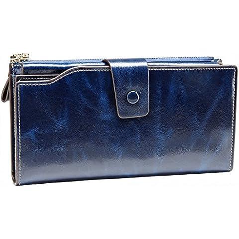 ITSLIFE - Cartera para mujer  azul azul talla única