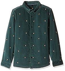 United Colors of Benetton Boys Shirt (16A5SHRTC041IK422Y_Green_2Y)