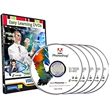 Easy Learning Master of Photoshop CS6 Complete 4 Courses (5 Video DVDs)