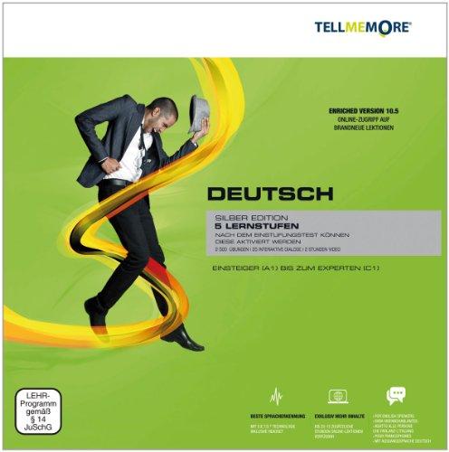 TELL ME MORE Enriched Version (10.5) : Deutsch, Silber Edition, DVD-ROM 5 Lernstufen. Einsteiger...