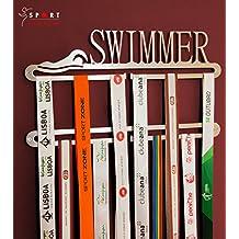 Schwimmer Medaille Display Doppel Aufhänger