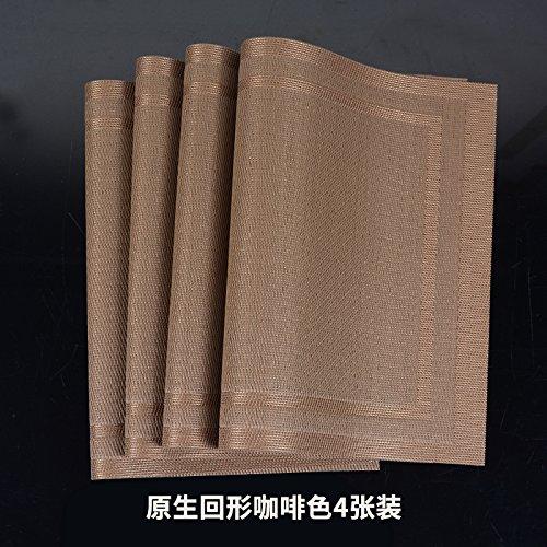 PVC Cup Mat Bowls di Pad isolamento Pad la tabella