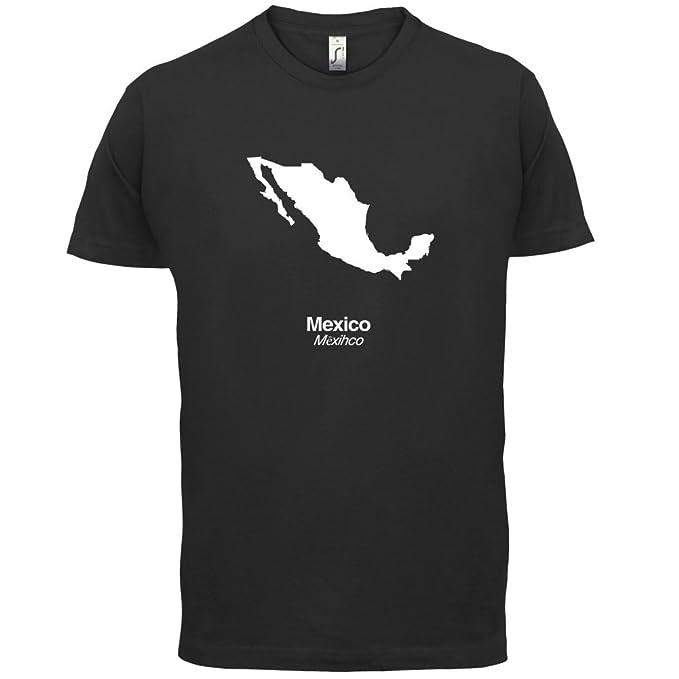 Mexico / Mexiko Silhouette - Herren T-Shirt - 13 Farben: Amazon.de:  Bekleidung