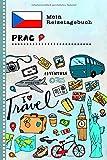 Prag Reisetagebuch: Kinder Reise Aktivitätsbuch zum Ausfüllen, Eintragen, Malen, Einkleben A5 - Ferien unterwegs Tagebuch zum Selberschreiben -  Urlaubstagebuch Journal für Mädchen, Jungen