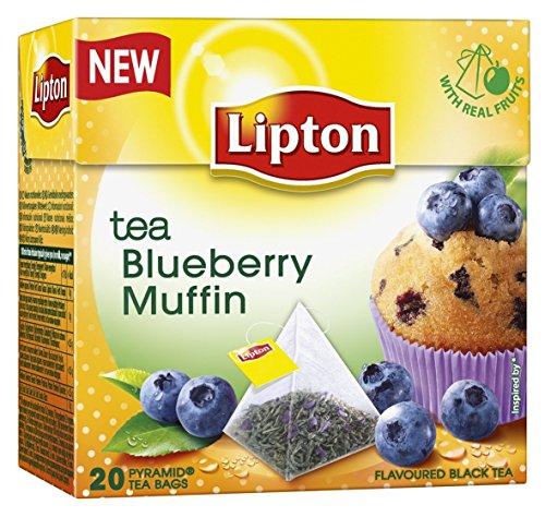 r Schwarzer Tee Blueberry Muffin 20 Pyramidenteebeutel ()