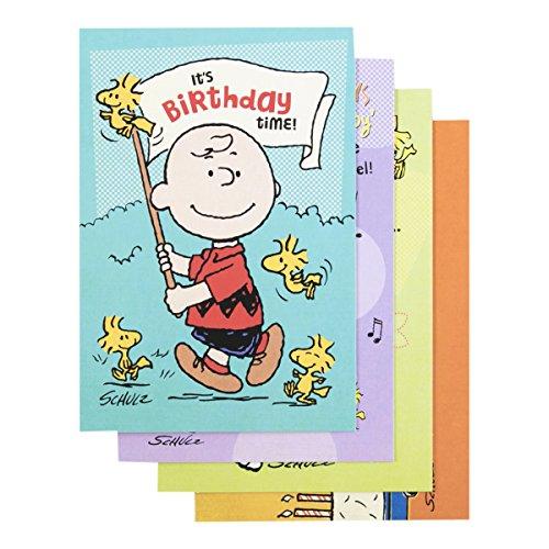 Peanuts–Geburtstag Inspirierende Box Karten