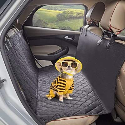 Yangyme Pet home Oxford Pet Dogs And Cats Back Seat Bench Waterproof Non-Slip Mat Out Rear Row Pet Cotton Mat by Yangyme