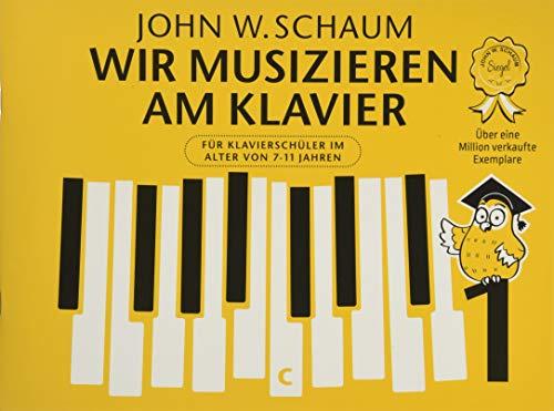 Wir musizieren am Klavier -Band 1- (Neuauflage): Lehrmaterial für Klavier