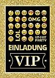 12 Einladungskarten zum Kindergeburtstag Einladungen Geburtstag VIP Mädchen Jungen Jungs