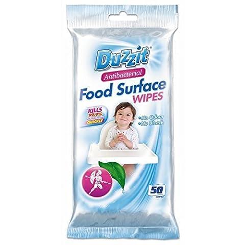 100 Antibacterial Food Surface Wipes 2 Packs of 50
