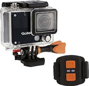 Rollei Actioncam 420-12 Megapixel Wifi Actioncam-Camcorder mit 4K/2K Videoauflösung Sowie Full HD Videofunktion Schwarz