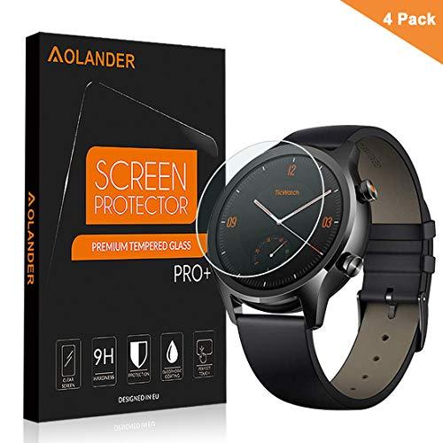 AOLANDER pellicola protettiva per Ticwatch C2/S2/E2, HD Premium in vetro...
