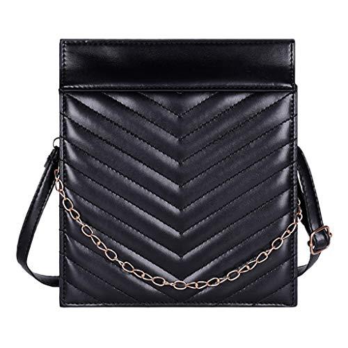 Mitlfuny handbemalte Ledertasche, Schultertasche, Geschenk, Handgefertigte Tasche,Damenmode Einfache Umhängetasche Große Kapazität Diagonal Cross Bag Chain Bag