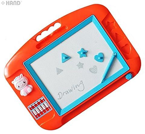 MAIN 909 Sketch Kit enfants Conseil griffonnage écriture Sketch magnétique Dessin avec