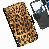 Hairyworm- Anmal Druck Seiten Leder-Schützhülle für das Handy Blackberry Q10