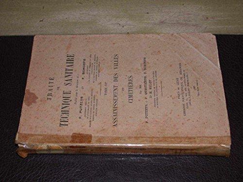 Traité de technique sanitaire. par Putzeys F. - Schoofs F. etc...