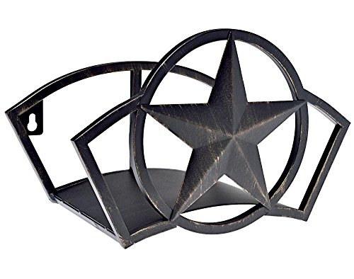 Liberty Garden Products 234Wandhalterung Star Gartenschlauch Butler, hält 125-feet von 5/20,3cm Schlauch-Bronze -