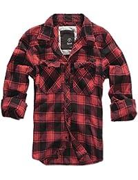 Brandit Camisa a Cuadros Camisa azul-rojo-blanco