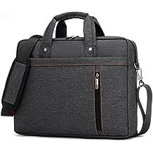 Laptoptasche Notebooktasche 13-17 Zoll, Laptop Tablet Schultertasche 360 stoßfest Umhängetasche Computer Bag Tasche wasserdicht mit Schultergurt für Schule Studium Reisen und Büro